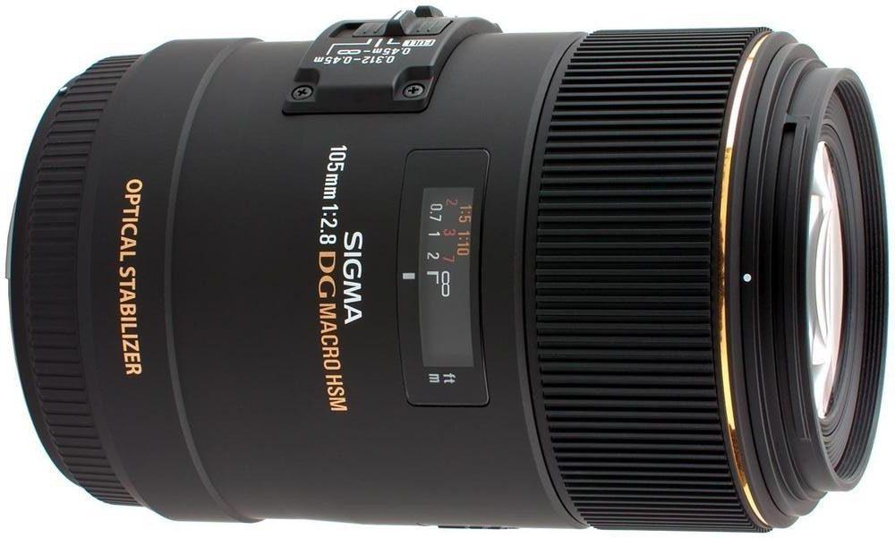 Bild des Sigma 105mm Macro-Objektivs