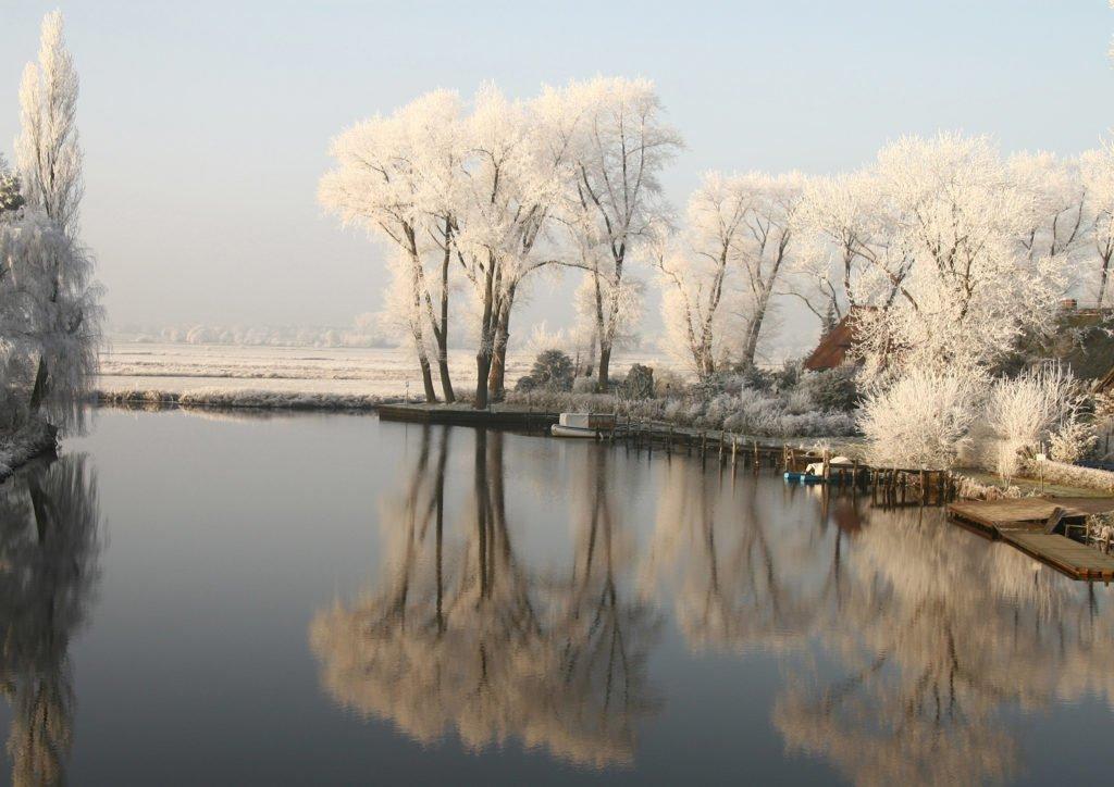 Die Hamme bei Tietjens Hütte im Winter