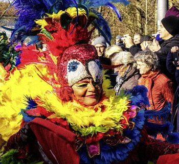 Samba Tänzerin in Bremen